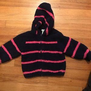 Toddler cozy sweatshirt